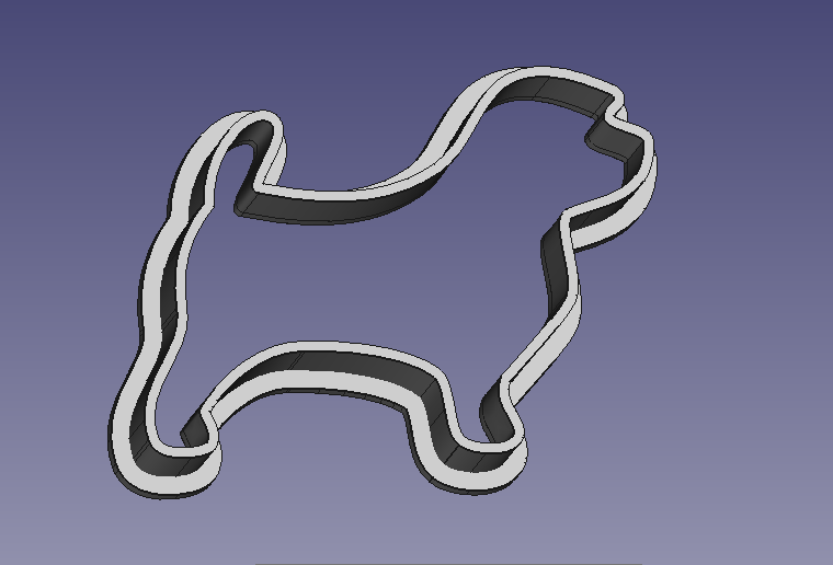 Norfolk Terrier Cookie Cutter V1